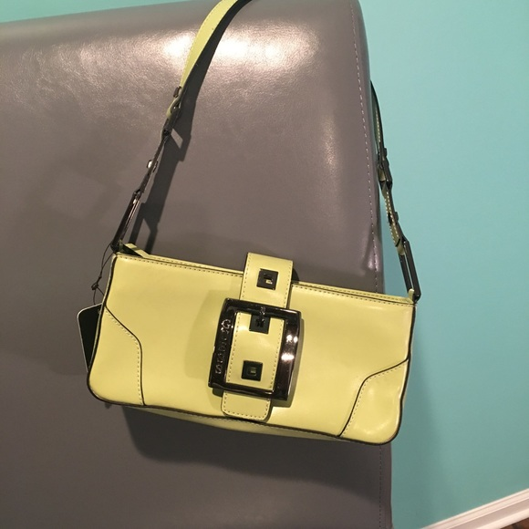 29ccae5872 Guess Nwt Beltway Green Small Handbag